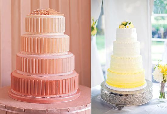 Google Image Result for http://images.polkadotbride.com/wp-content/uploads/2012/01/Ombre-Wedding-Cakes003.jpg