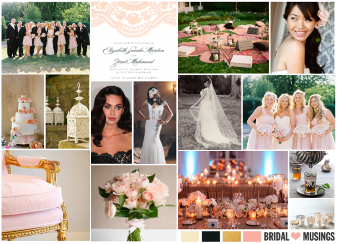 Our Wedding ~ Inspiration Board | Bridal Musings | A Chic and Unique Wedding Blog