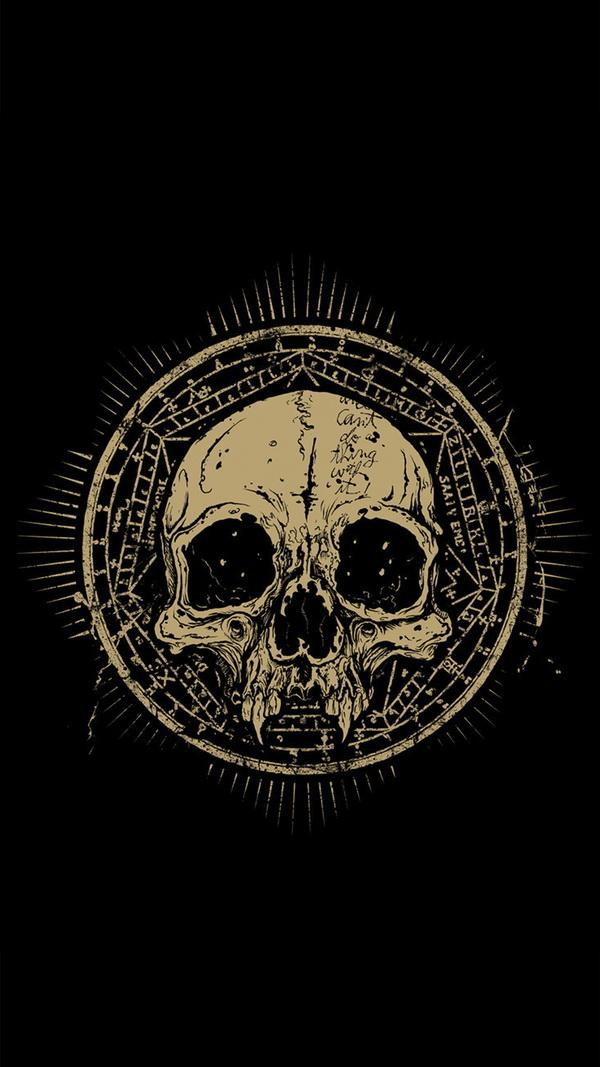 The skull htc one wallpaper - HTC wallpapers