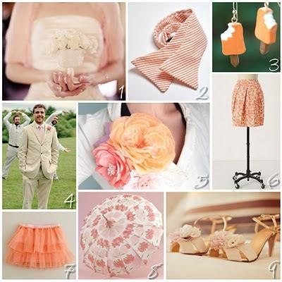 Notable Inspiration: Wedding Inspiration for the Non-Traditional Bride: Color Inspiration: Summer Sorbet