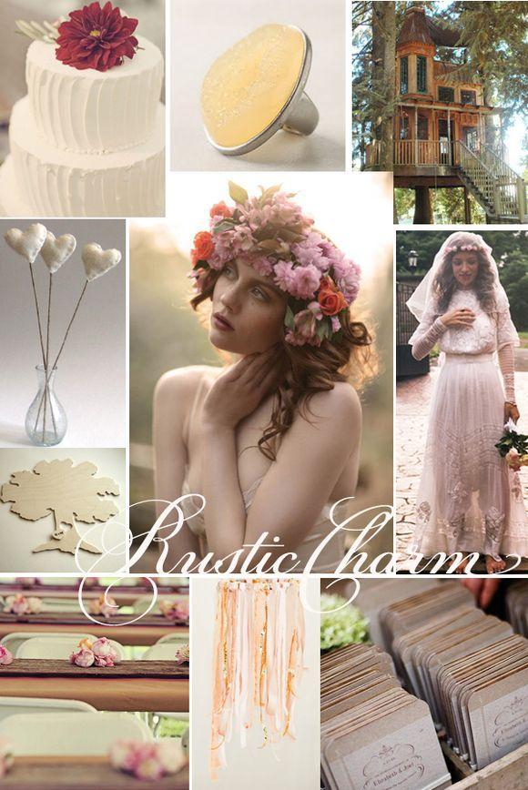Bridal Inspiration Boards #5 ~ Rustic Charm... - Love My Dress Wedding Blog - A UK Wedding Blog