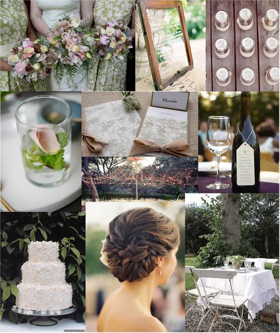 Rustic Winery Wedding Inspiration | Polka Dot Bride