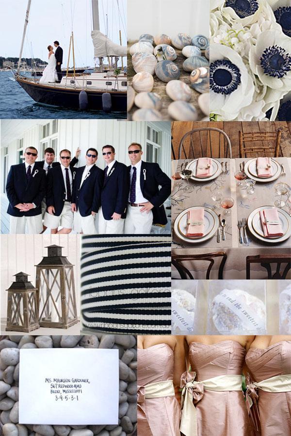 Sarah's Nautical Inspired Wedding | Polka Dot Bride