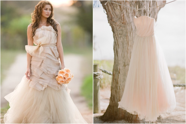 Colored Wedding Dress Trend | Heart Love Weddings