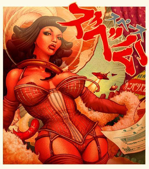 IndiesArt.com - ONEQ - Illustrations - barpink243