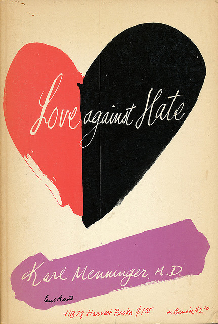 Love Against Hate cover by Paul Rand | Flickr - Photo Sharing!