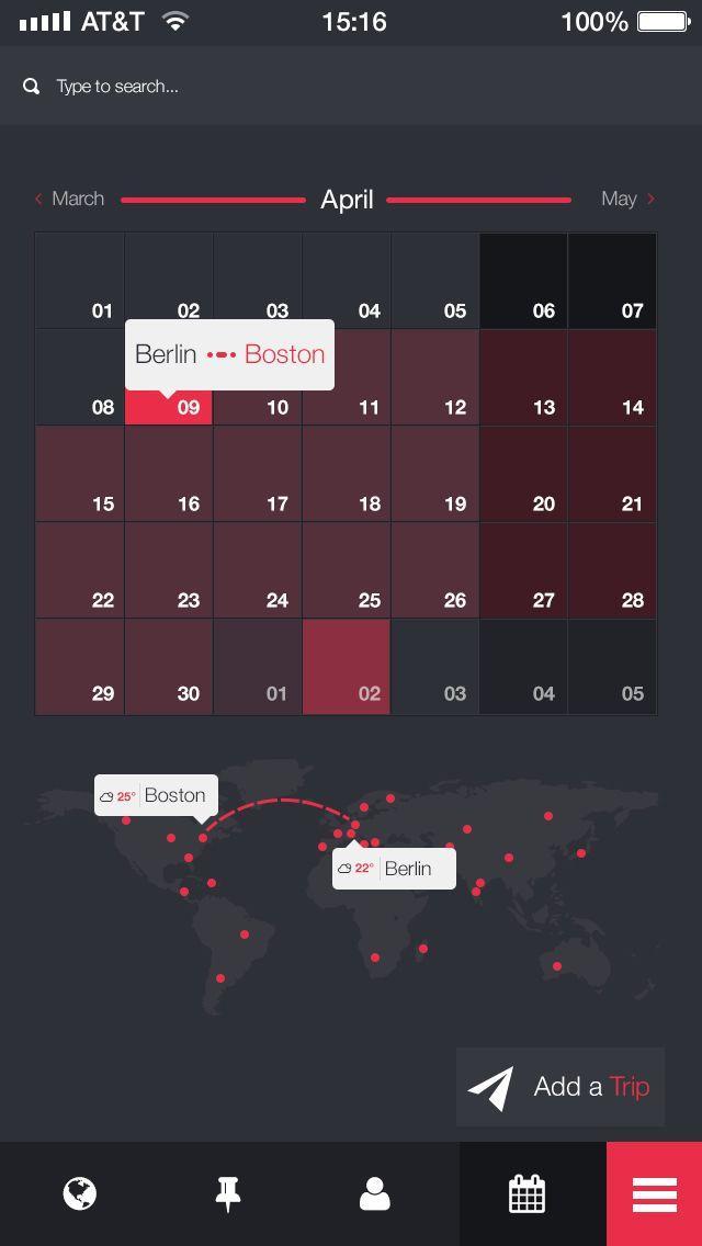 Your-trip-app | GUI