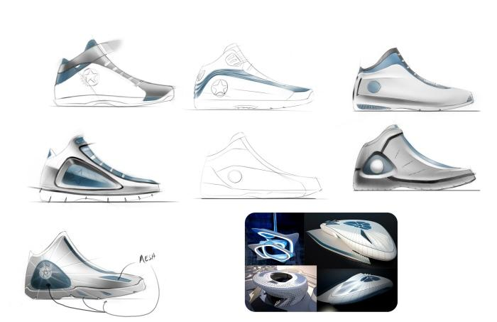 Converse Basketball Shoes by Patrick Lukasak at Coroflot