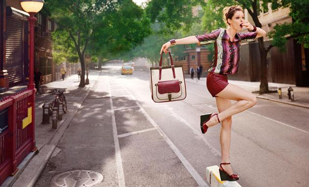 Longchamp SS12 Campaign | F.TAPE | Fashion Directory