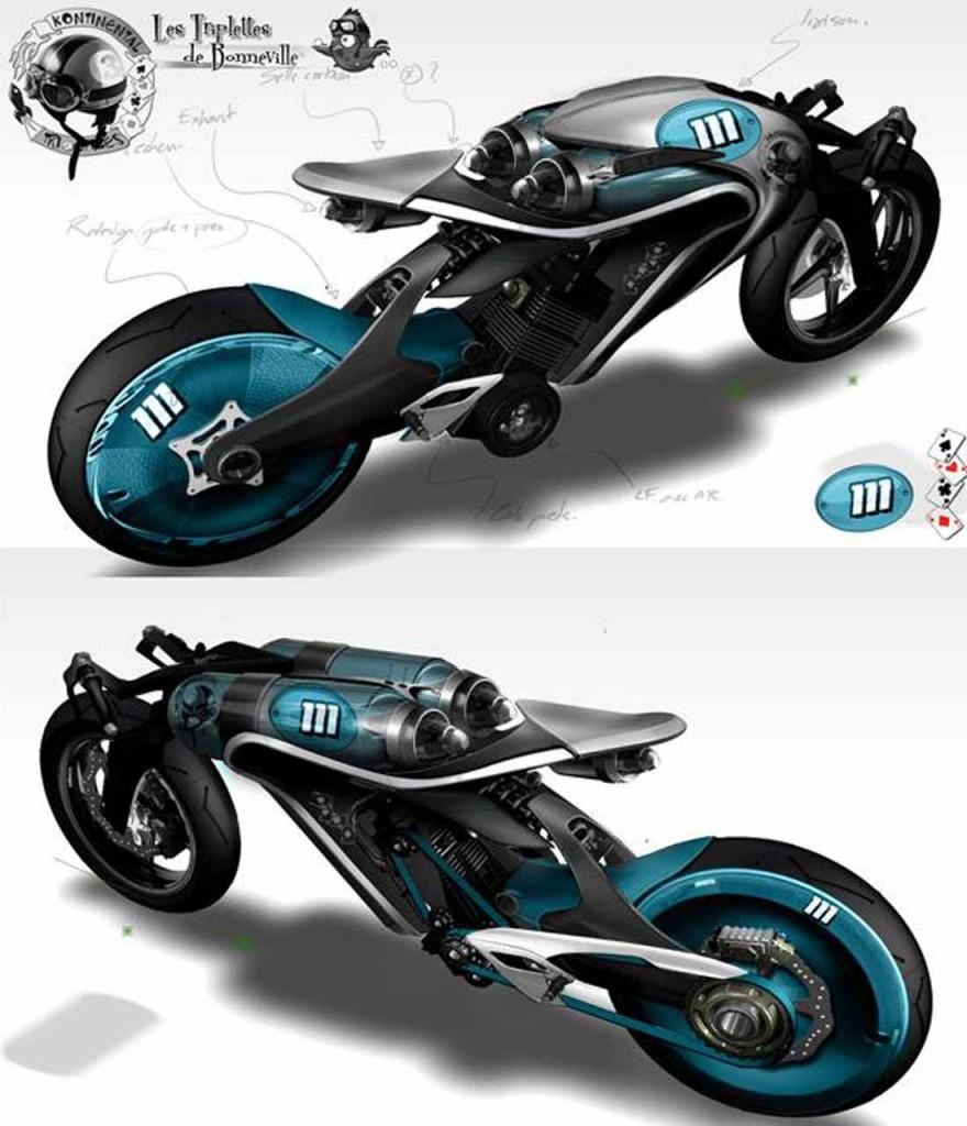 Saline Bird - Air Compression Powered Bike Concept - Motorcycle Spesification, Price , Picture and Wallpaper | Indomotorcycle.Com