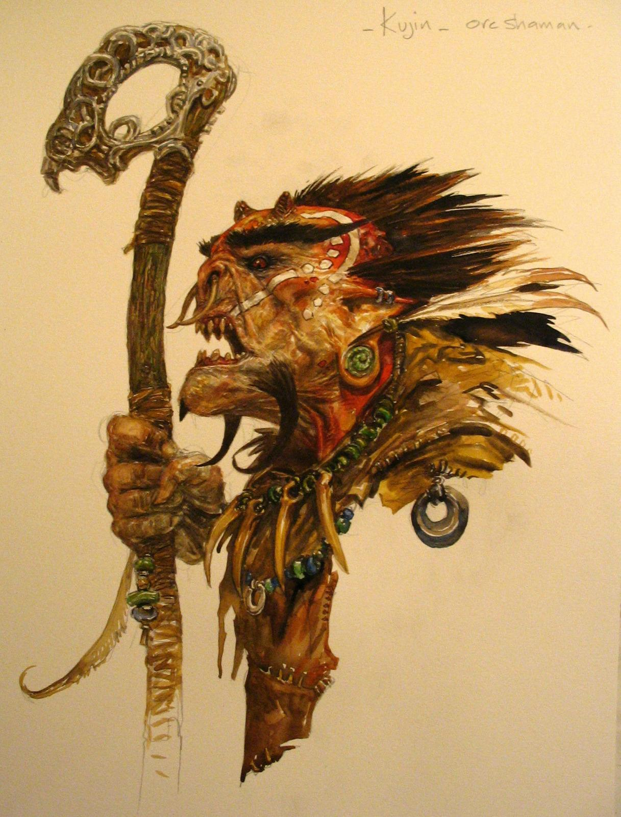 Orc >> concept for ubisoft 'might and magic' by adrian-smith ...