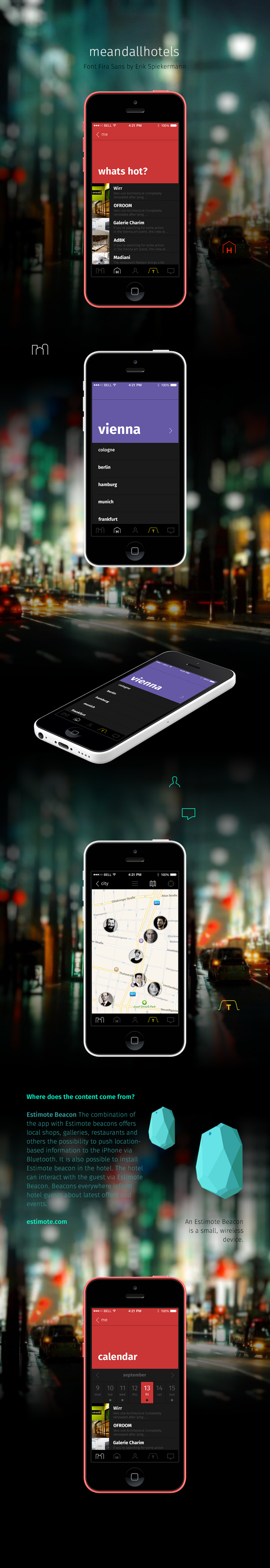 meandallhotels app 2.0 on