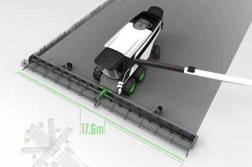 Venum – Wendemähdrescherkonzept mit 18 Meter breitem Klappschneidwerk und Doppelkabine » Blog Technisches Design