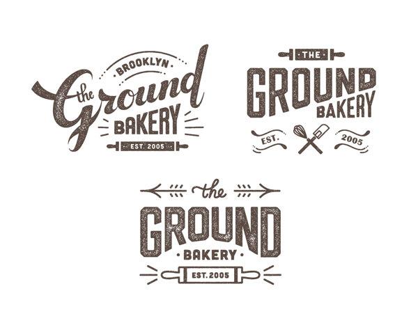 The Ground Bakery Logo Design On 323264 On Wookmark