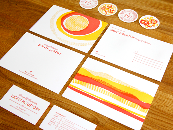 Eight Hour Day Stationery - Entry Details - AIGA Design Show 2011