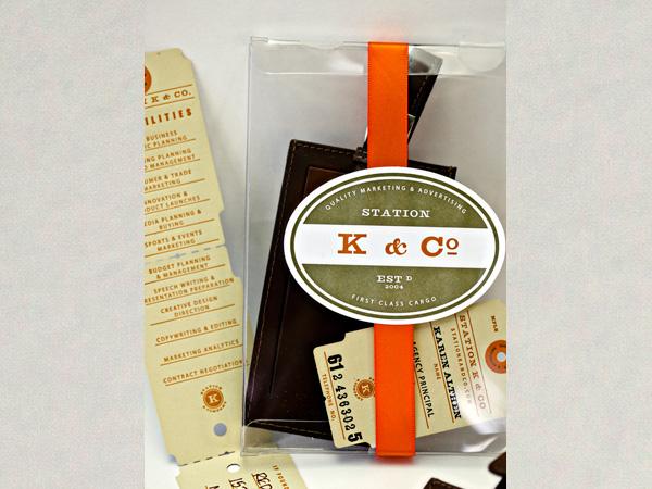 Station K & Company Agency Branding - Entry Details - AIGA Design Show 2011