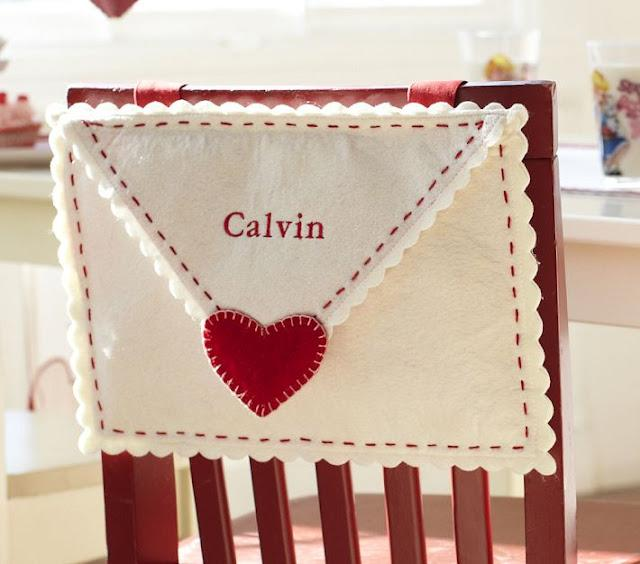 Sheek Shindigs: DIY Felt Valentine Envelopes