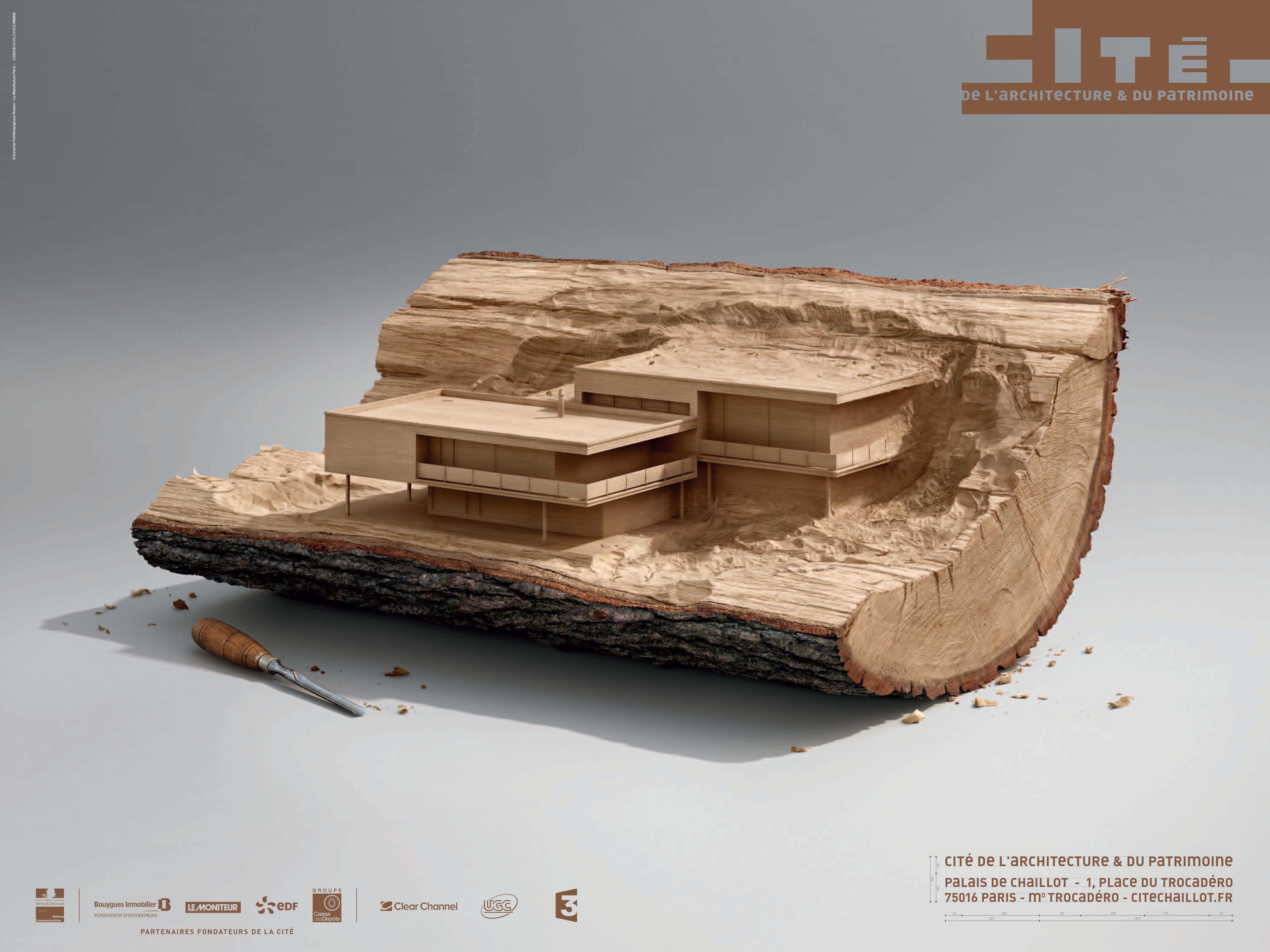 Llllitl cit architecture patrimoine paris publicit mus e for Agence architecture interieur paris