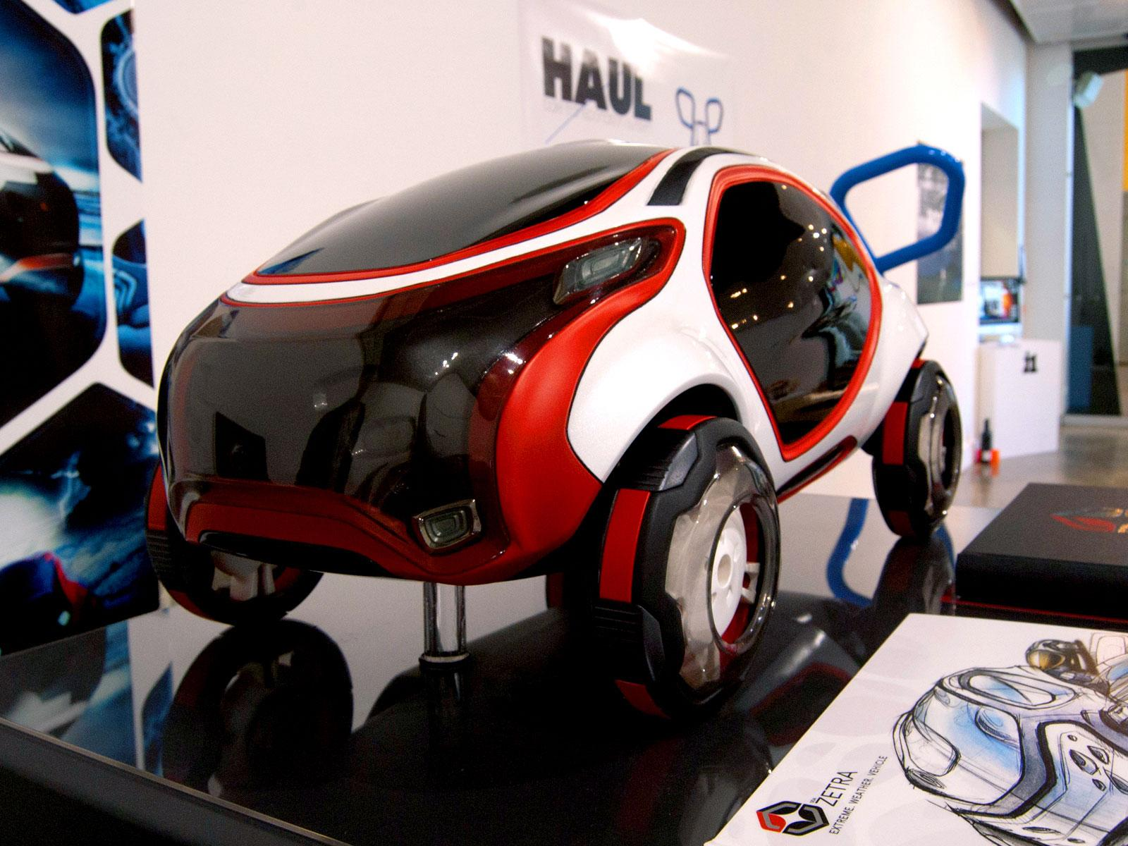 ZETRA Extreme Weather Vehicle Concept by Adis Sabic scale model - Car Body Design