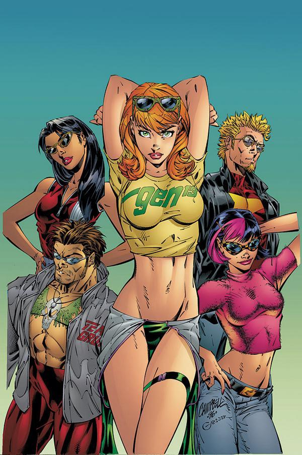 Incredible Comic Book Girls | Dumage