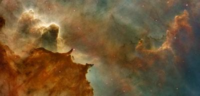 HubbleSite - Picture Album: Carina Nebula Details: Great Clouds