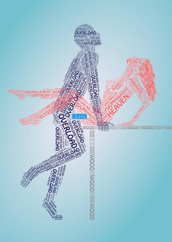 Great Durex Typography by Andrej Krahne - Photo Librarian