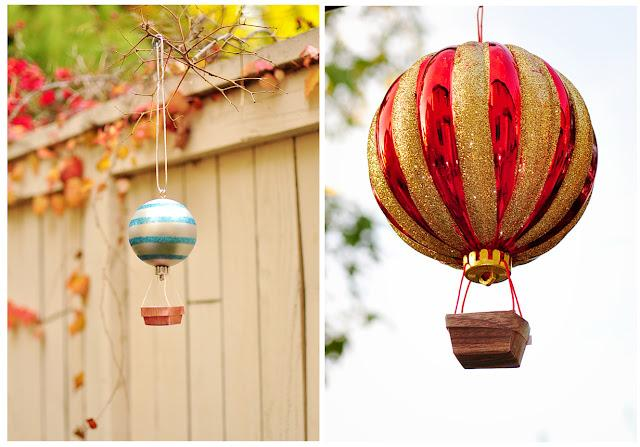 The Cheese Thief: How to Make Hot Air Balloon Ornament Tutorial