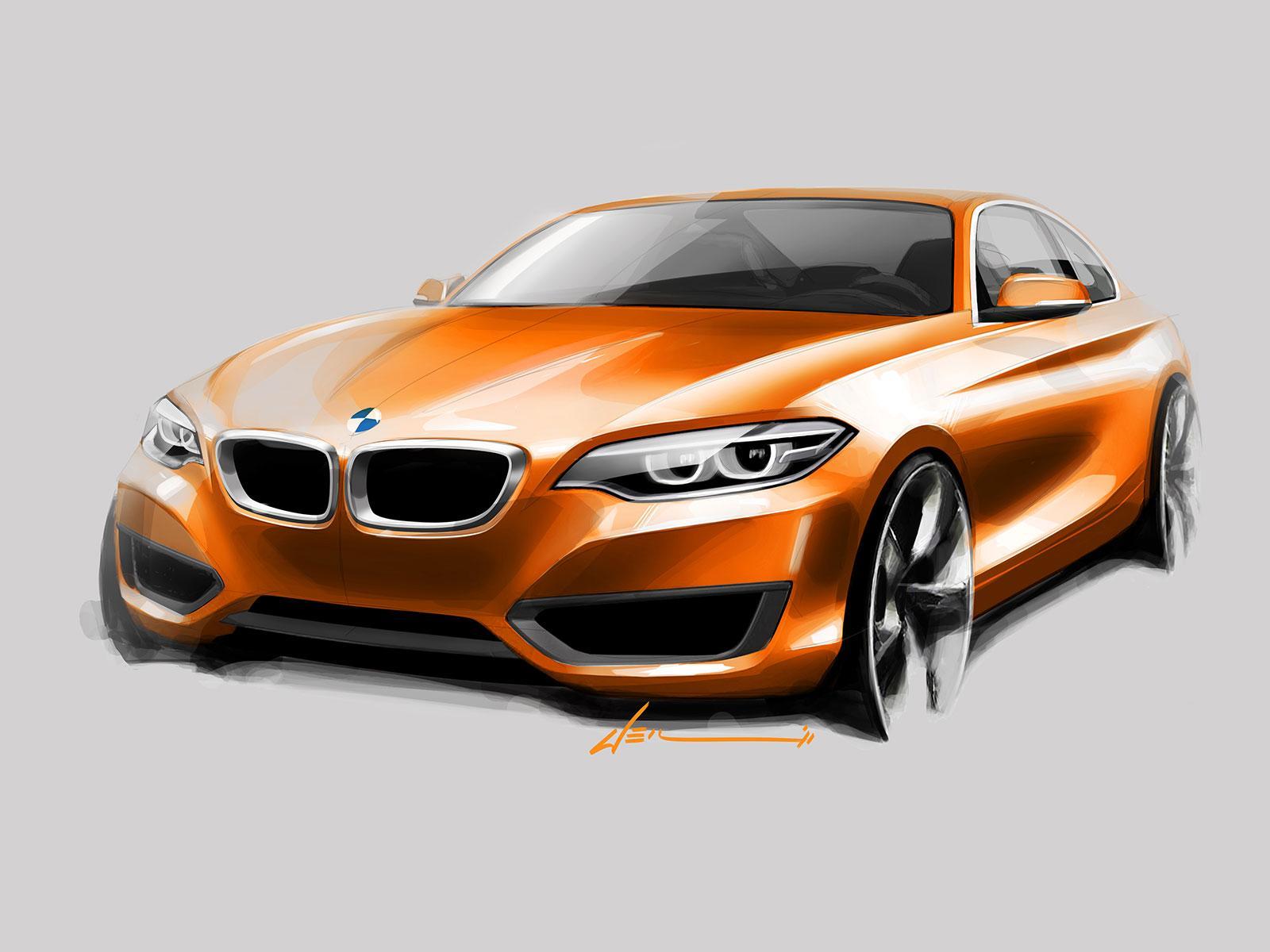 Bmw 2 Series Coupe Design Sketch Car Body Design