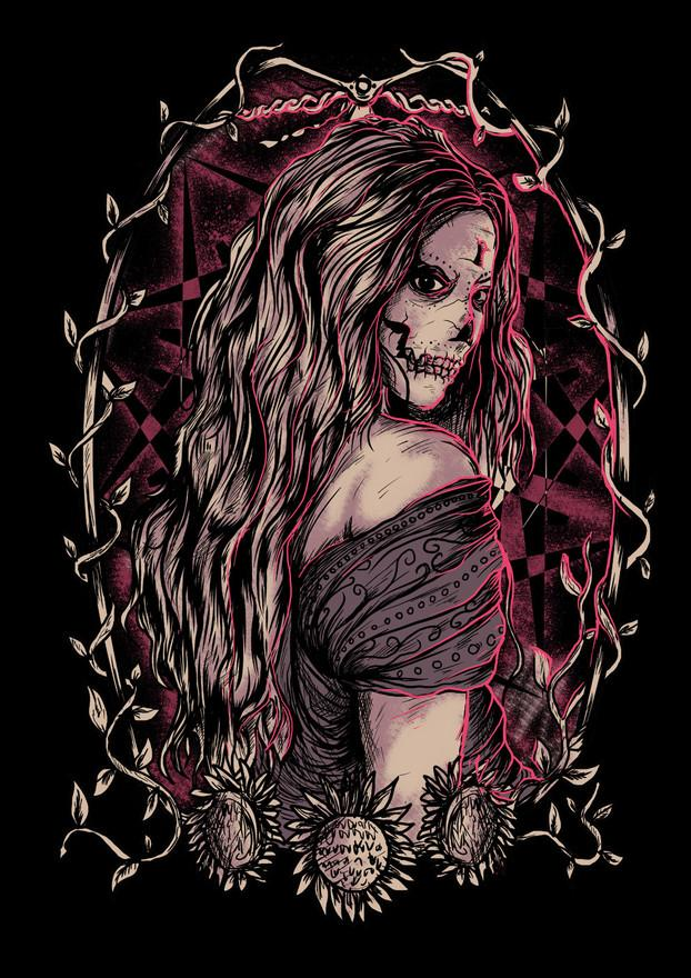 Demon Lady by MurderInk | Shadowness