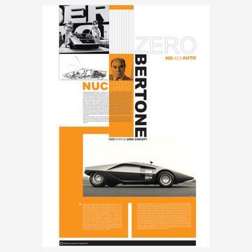 Fab.com | Bertone Poster 26x36