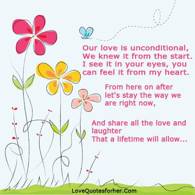 dating unconditional romantic love