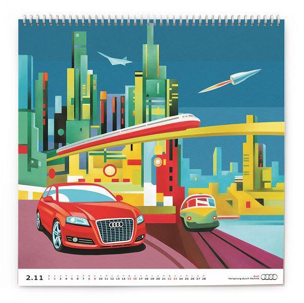 Audi Russia Calendar 2011