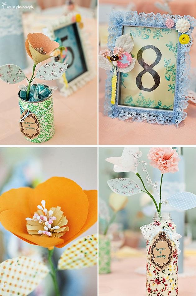 Crafty Details + Paper Flowers — Celebrations at Home