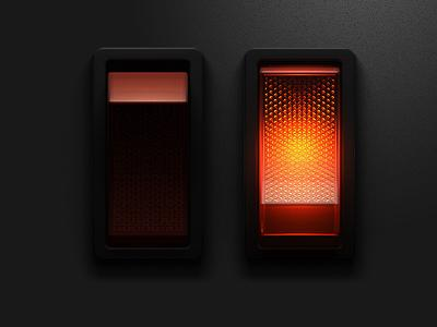 Lighted Rocker Switch by Keith Sereby