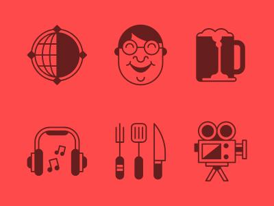 Esquire Icons by Tim Boelaars