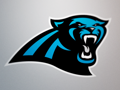 Carolina Panthers Logo by Fraser Davidson