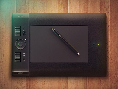 Wacom Intuos Icon by Alexander