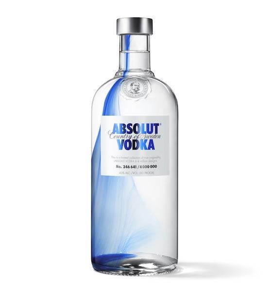 ABSOLUT ORIGINALITY : Du pigment dans le flacon d'ABSOLUT VODKA - Web and Luxe - Blog Luxe Marketing