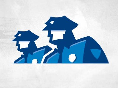 Cops logo by Carlos Fernandez