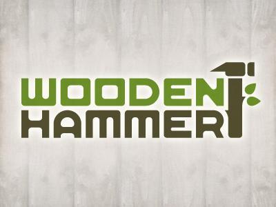 Wooden Hammer Logo by Jory Raphael