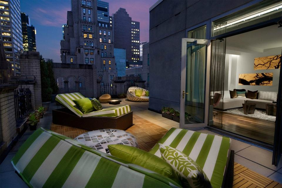 elegant rooftop room new york photo | one big photo