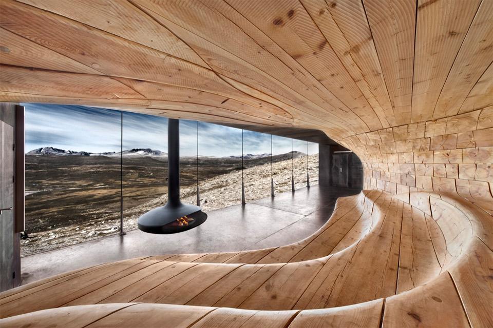 scandinavian modern sauna photo | one big photo