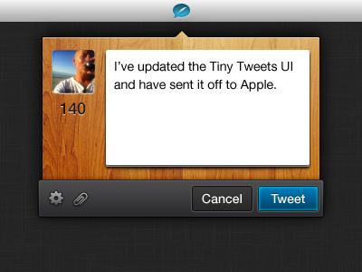 Tiny Tweets 1.0.3 by Jonathan Lochhead