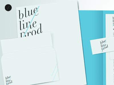 Blueline identity by beastydesign