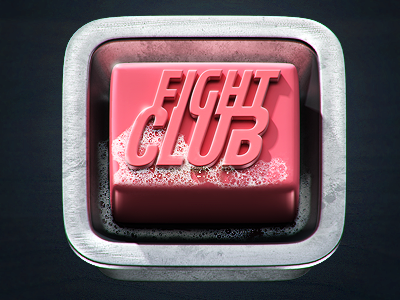 Fight Club Icon by Evgeny Skidanov