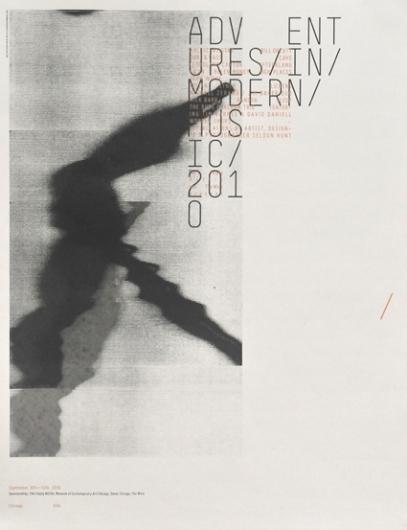 Adventures in Modern Music 2010 — Sonnenzimmer — Designspiration
