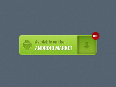 Android Market button by Marian Mraz
