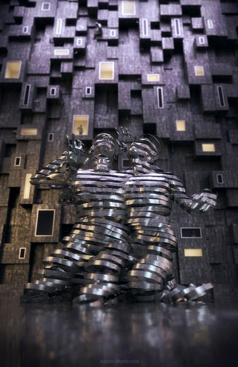 Looks like good Artworks by Adam Martinakis