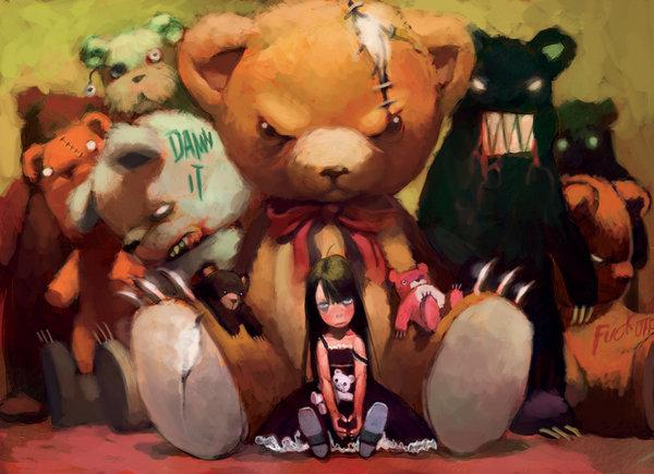 bear girl by ~cuson