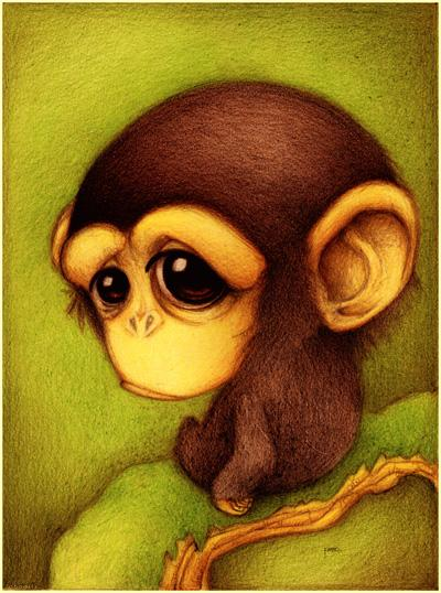 Chimpance. by *faboarts